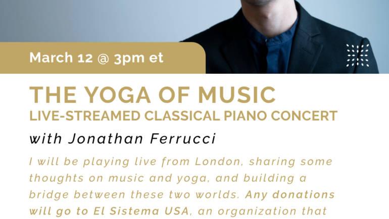 12 Mar 2021 – Livestream Fundraising Concert for El Sistema